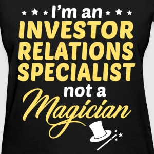 Investor Relations Specialist - Women's T-Shirt