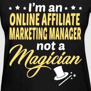 Online Affiliate Marketing Manager - Women's T-Shirt