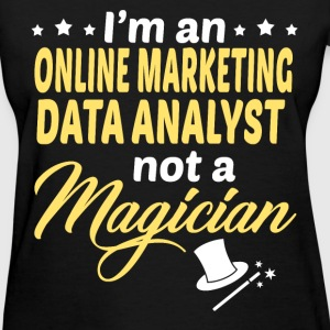 Online Marketing Data Analyst - Women's T-Shirt