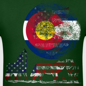 WOLF PACK COLORADO T-Shirts - Men's T-Shirt