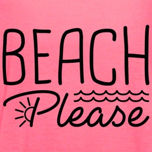 Beach Please - Women's Flowy Tank Top by Bella