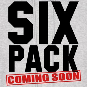 six_pack_coming_soon_gym_workout_fitness Hoodies - Men's Hoodie