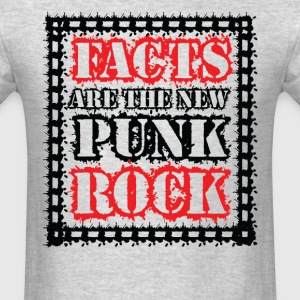 FACTS ARE THE NEW PUNK ROCK (Haz D. Mujica Mono R T-Shirts - Men's T-Shirt