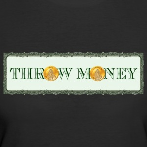 Throw Money Band T-Shirt - Women's 50/50 T-Shirt