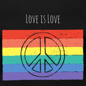Love is Love - Premium Women's Tee - Women's Premium T-Shirt