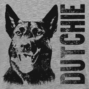 Dutch Shepherd dog - Dutchie - Men's Premium T-Shirt