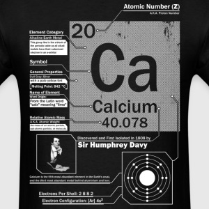 Calcium Ca 20 Element t shirt - Men's T-Shirt