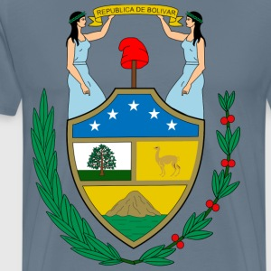 Bolivia Coat of Arms T-Shirts - Men's Premium T-Shirt