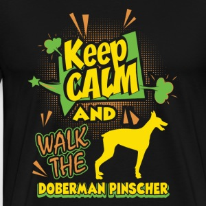 Doberman Pinscher Shirt - Men's Premium T-Shirt