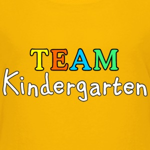 TEAM Kindergarten (White) Baby & Toddler Shirts - Toddler Premium T-Shirt