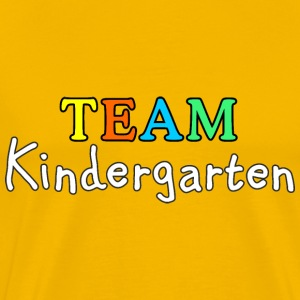 TEAM Kindergarten (White) T-Shirts - Men's Premium T-Shirt