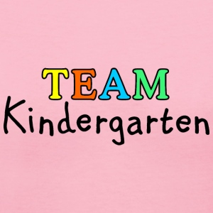 TEAM Kindergarten T-Shirts - Women's V-Neck T-Shirt