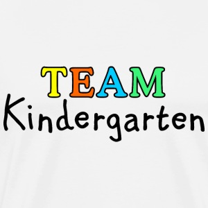 TEAM Kindergarten T-Shirts - Men's Premium T-Shirt