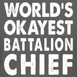 World's Okayest Battalion Chief Commander T-Shirts - Women's T-Shirt