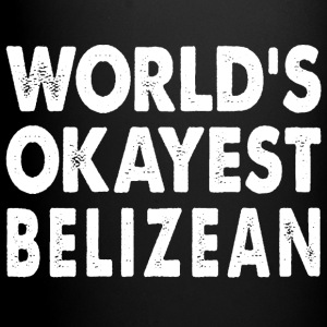 World's Okayest Balizean Belize Mugs & Drinkware - Full Color Mug
