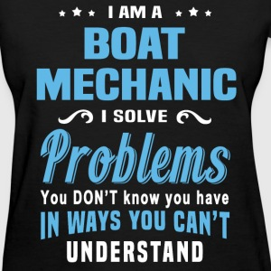 Boat Mechanic - Women's T-Shirt