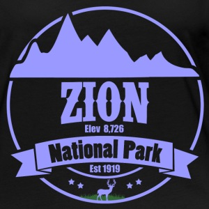 ZION 2 C.png Long Sleeve Shirts - Women's Premium Long Sleeve T-Shirt