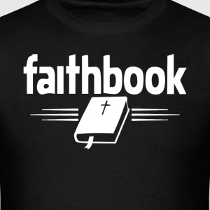 Faith Book Jesus Christian t-shirt - Men's T-Shirt