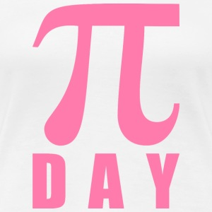Original pink Pi DAY mathematical symbol school T-Shirts - Women's Premium T-Shirt