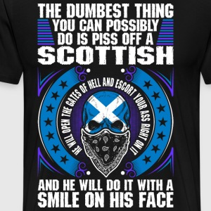 The Dumbest Thing A Scottish T-Shirts - Men's Premium T-Shirt