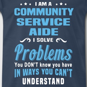 Community Service Aide - Men's Premium T-Shirt