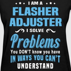 Flasher Adjuster - Women's T-Shirt