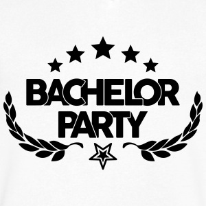 bachelor party - marriage - wedding - game over T-Shirts - Men's V-Neck T-Shirt by Canvas