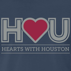 Hearts WIth Houston T-Shirts - Men's Premium T-Shirt