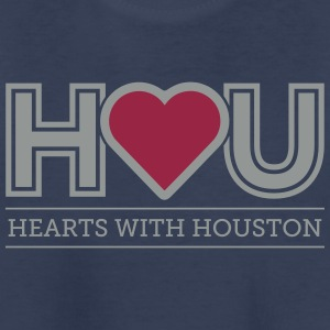 Hearts WIth Houston Kids' Shirts - Kids' Premium T-Shirt