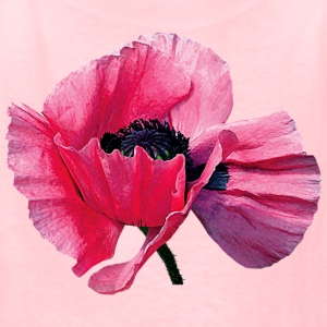 Pink Poppy Closeup Kids' Shirts - Kids' T-Shirt