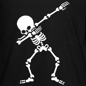 Dabbing skeleton (Dab) Kids' Shirts - Kids' Premium Long Sleeve T-Shirt