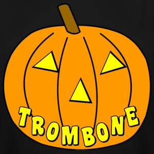 Trombone Pumpkin T-Shirts - Men's Tall T-Shirt