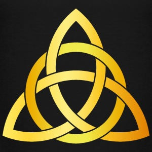 Original Triquetra circle celtic knot gold Baby & Toddler Shirts - Toddler Premium T-Shirt