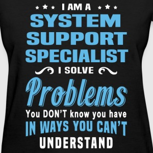 System Support Specialist - Women's T-Shirt