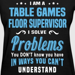 Table Games Floor Supervisor - Women's T-Shirt