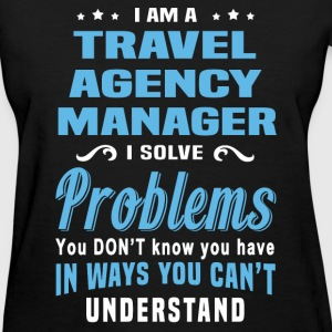 travel agency manager womens t shirt - Agency Manager