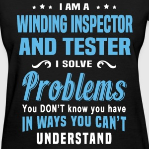 Winding Inspector And Tester - Women's T-Shirt