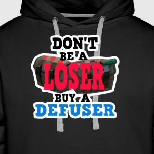 Don't Be A Loser Buy A Defuser: CS:GO Pullover - Men's Premium Hoodie