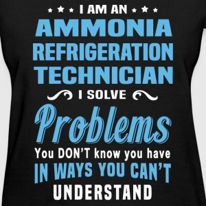 Ammonia Refrigeration Technician - Women's T-Shirt