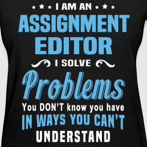 Assignment Editor - Women's T-Shirt