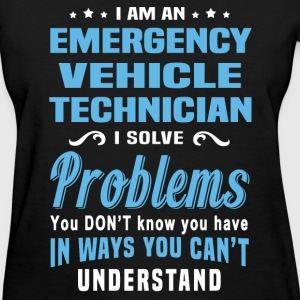 Emergency Vehicle Technician - Women's T-Shirt
