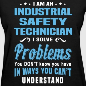 Industrial Safety Technician - Women's T-Shirt
