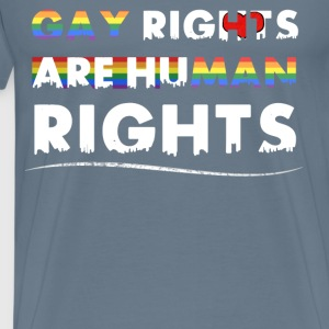 Gay Rights - Gay rights are human rights - Men's Premium T-Shirt