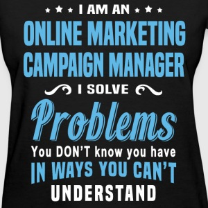 Online Marketing Campaign Manager - Women's T-Shirt