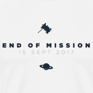 Cassini End of Mission t-shirt - Men's Premium T-Shirt