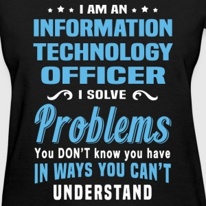 Information Technology Officer - Women's T-Shirt