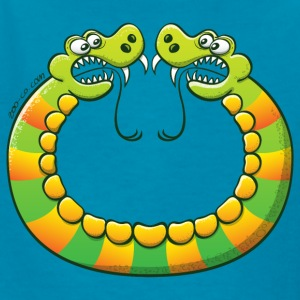 Scary double headed snake Kids' Shirts - Kids' T-Shirt