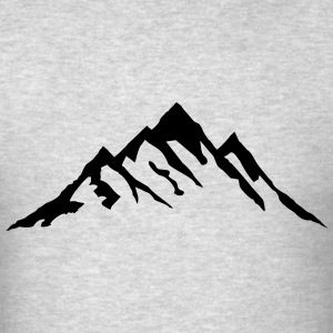 Mountain, Mountains T-Shirts - Men's T-Shirt