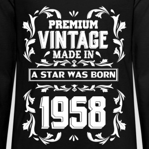 A Star Was Born In 1958 Kids' Shirts - Kids' Premium Long Sleeve T-Shirt
