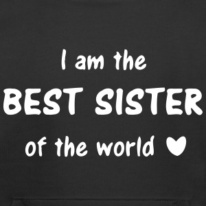 I am the best sister of the world  - sisters love Sweatshirts - Kids' Premium Hoodie